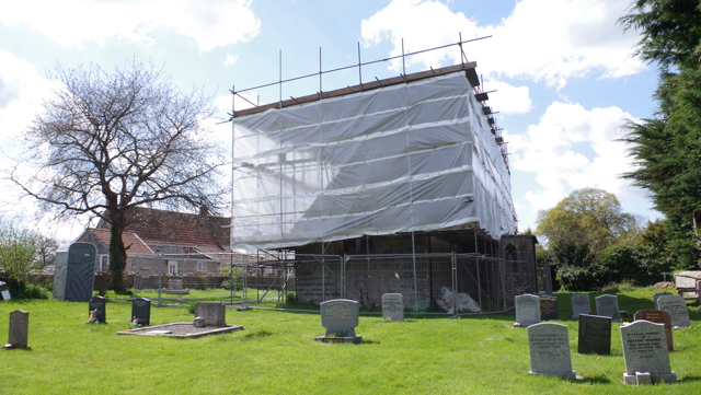 Work starts at St Peter's